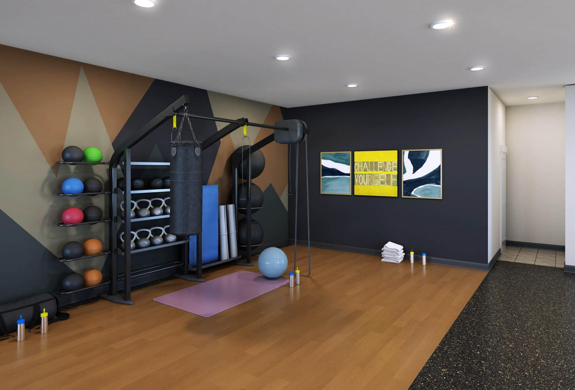 Clemson Lofts fitness v01 HD